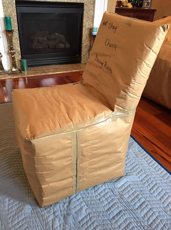 Packing Chair for Move